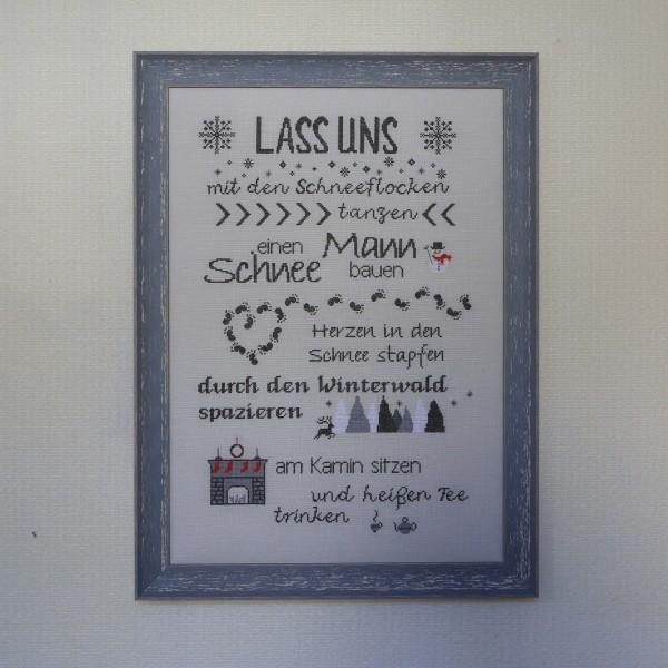 """Stickpackung """"Lass uns mit den Schneeflocken tanzen"""" von Nolte - Design"""