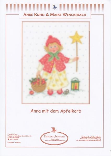 """Stickizz Kreuzstich No. AK527 """"Anna mit dem Apfelkorb"""""""