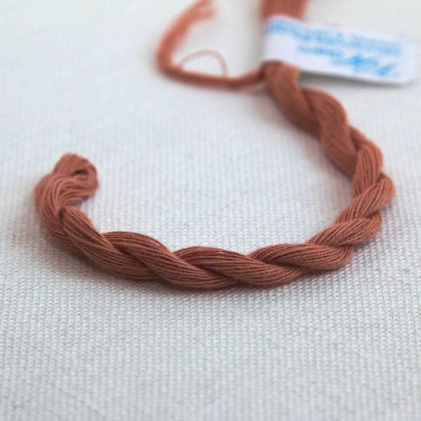 Baumwollgarn, Farbe 4042, rosenholz