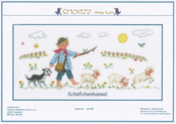"""Stickizz Kreuzstich No. AK568 """"Schä""""fchenhansel"""""""