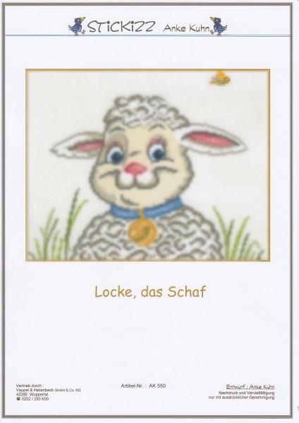 """Stickizz Kreuzstich No. AK550 """"Locke das Schaf"""""""