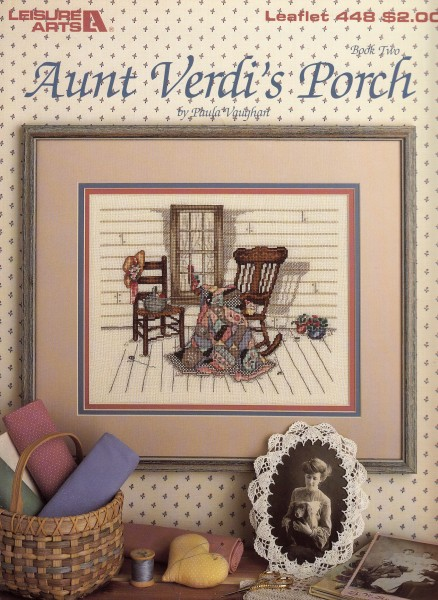"Vorlagenbuch Paula Vaughan ""Aunt Verdi`s Porch"""