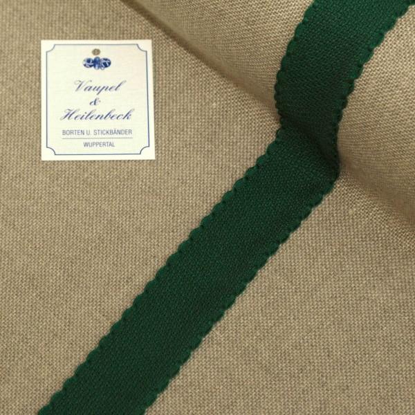 Aida-Stickband 100% BW, 30 mm, Farbe 23, grün - grün