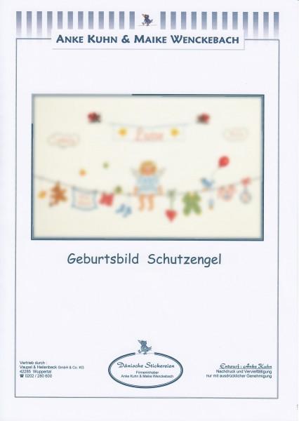 """Stickizz Kreuzstich No. AK544 """"Geburtsbild Schutzengel"""""""