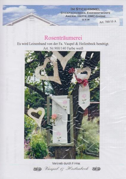"""Stickhimmel Anleitung No. 010A """"Rosenträumerei"""""""