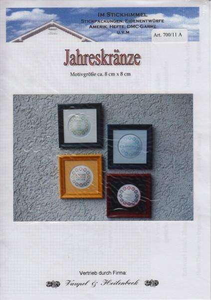 "Stickhimmel Anleitung No. 11A ""Jahreskränze"""