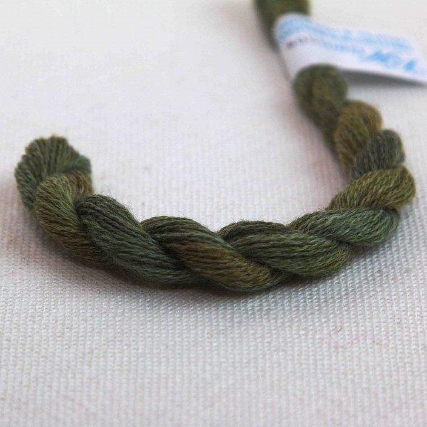 Verlaufsgarn Wolle / Acryl, Farbe VW9209 dunkelgrün - grün