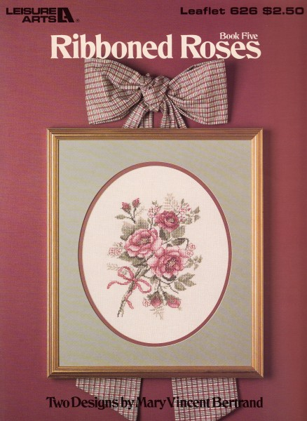 "Vorlagenbuch Mary Vincent Bertrand ""Ribboned Roses"""