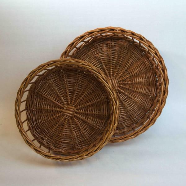Weidenkorbset honigfarbig 25 / 30 cm