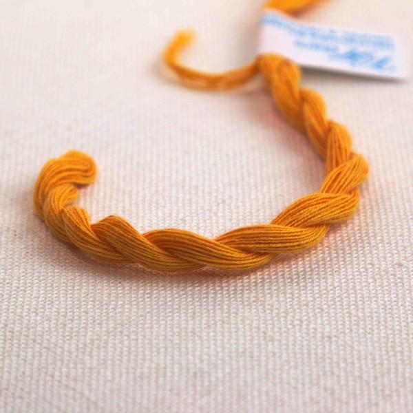 Baumwollgarn, Farbe 1049, mandarine hell