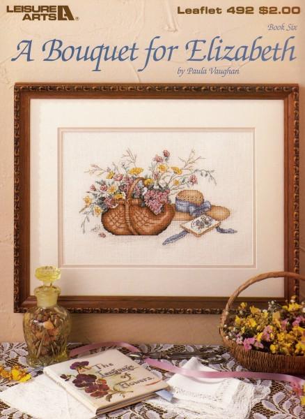"Vorlagenbuch Paula Vaughan ""A Bouquet for Elizabeth"""