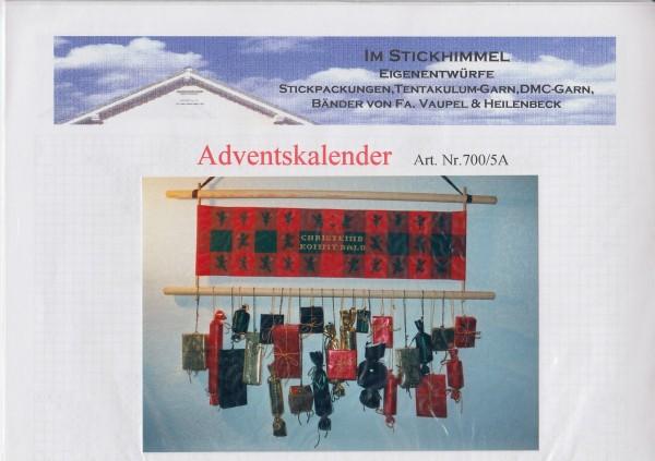 "Stickhimmel Anleitung No. 05A ""Adventskalender"""
