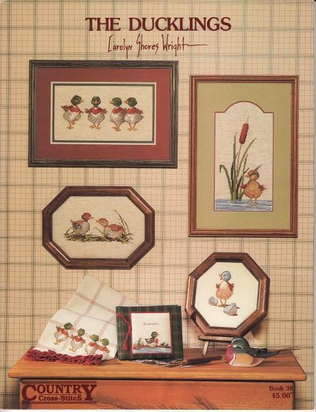 "Vorlagenbuch Carolyn Shores Wright ""The Ducklings"""