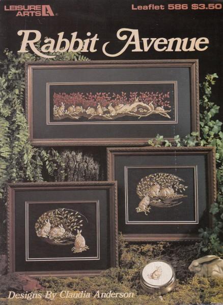 "Vorlagenbuch Claudia Anderson ""Rabbit Avenue"""