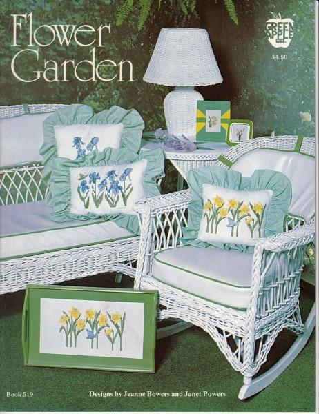 """Vorlagenbuch Jeanne Bowers """"Flower Garden"""""""