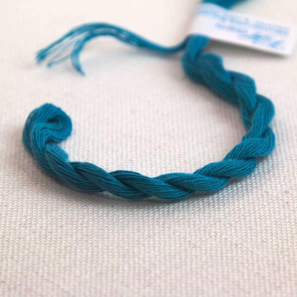 Baumwollgarn, Farbe 3216, türkisblau matt