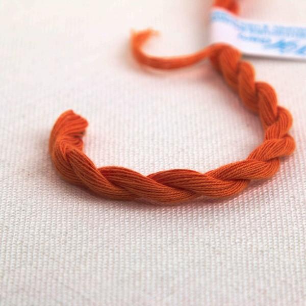 Baumwollgarn, Farbe 4067, mandarin