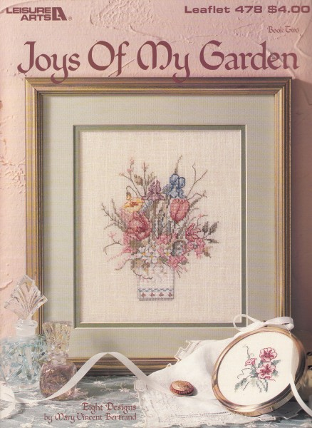 "Vorlagenbuch Mary Vincent Bertrand ""Joys of my Garden"""