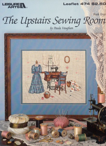 """Vorlagenbuch Paula Vaughan """"The upstairs Sewing Room"""""""