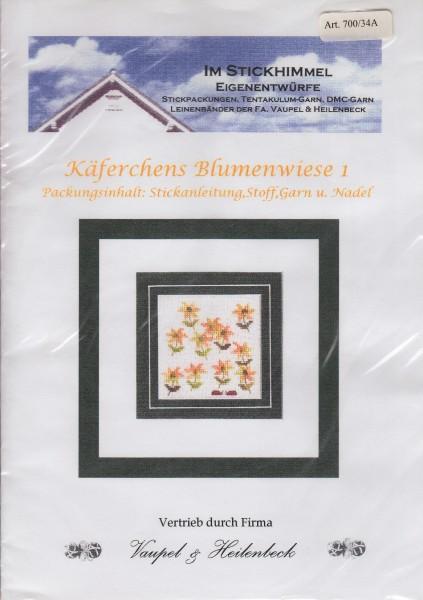 """Stickhimmel Anleitung No. 34A """"Käferchens Blumenwiese"""""""