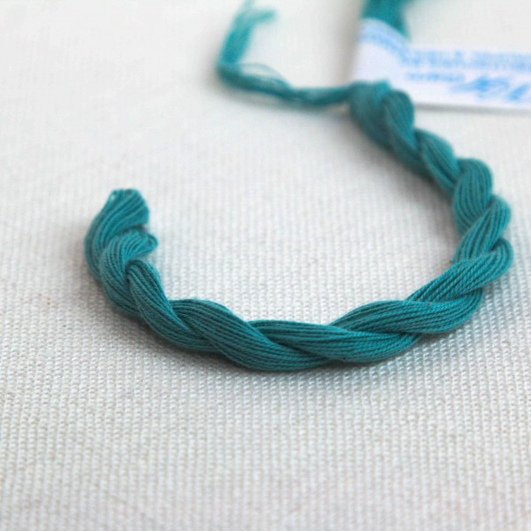 Baumwollgarn, Farbe 2219, seegrün zart
