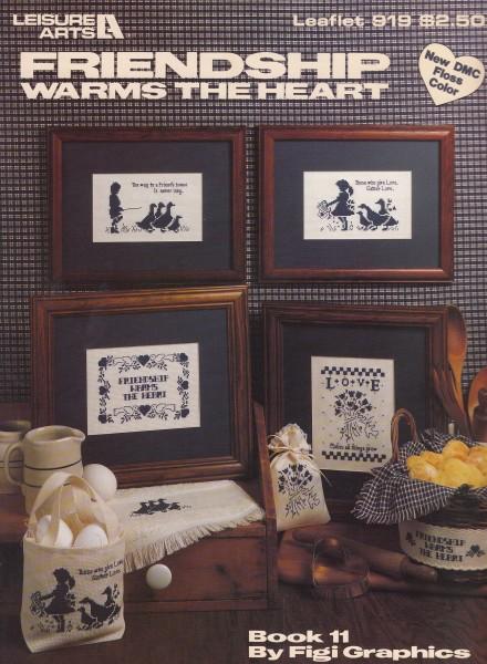 """Vorlagenbuch Priscilla Clark """"Friendship warms the Heart"""""""