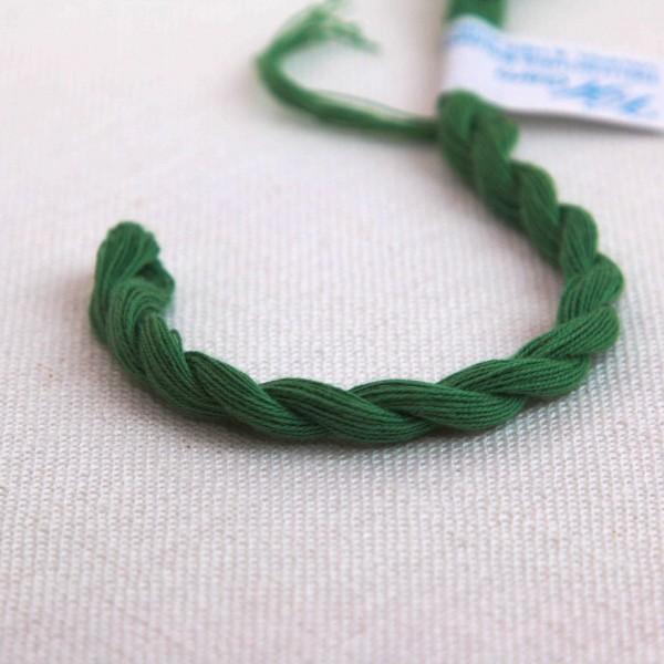 Baumwollgarn, Farbe 4074, waldgrün mittel,