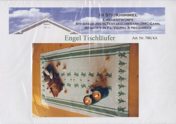 """Stickhimmel Anleitung No. 04A """"Engel Tischläufer"""""""
