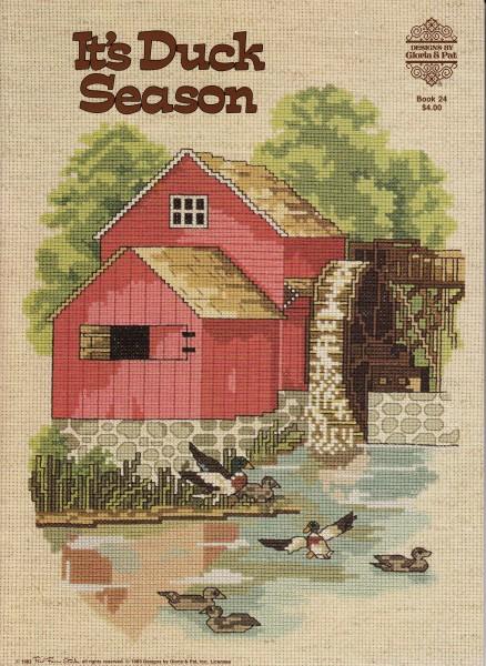 """Vorlagenbuch Gloria & Pat """"It's Duck Season"""""""